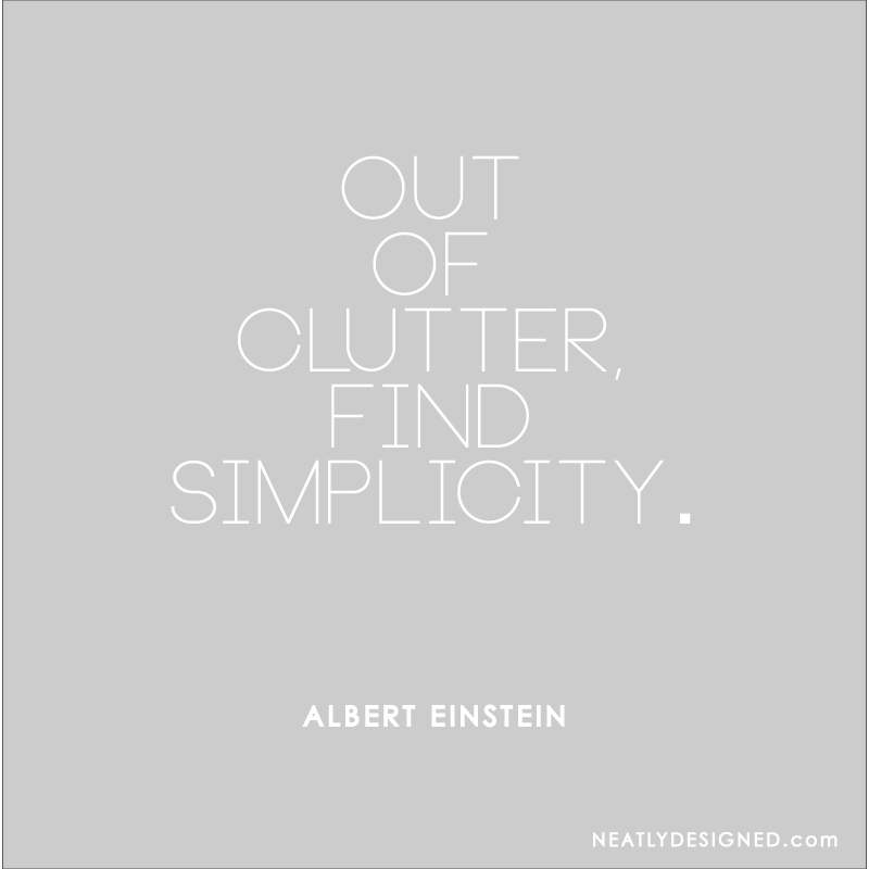 Out-of-clutter-find-simplicity
