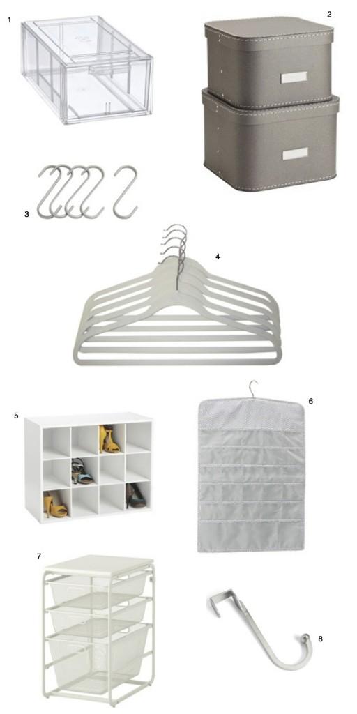 closet on a budget