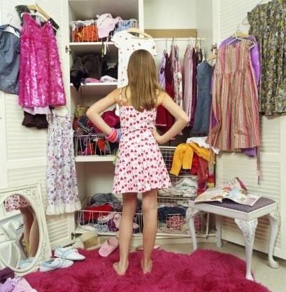 Tips For Tackling The Teenage Closet