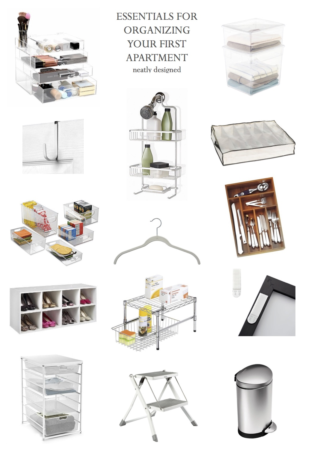 Organizing Your First Apartment