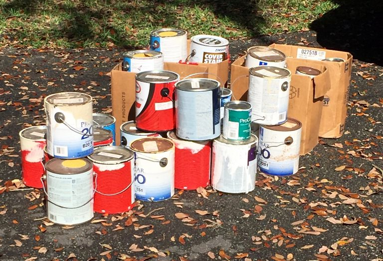 How To Dispose Of Your Old Paint
