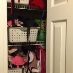 Before & After Bathroom Closet